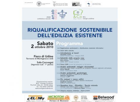 Riqualificazione sostenibile dell'edilizia esistente – 57'CASAMODERNA 2010