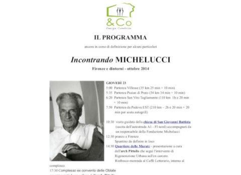 Viaggio studio – Incontrando MICHELUCCI – Firenze e dintorni – 2014