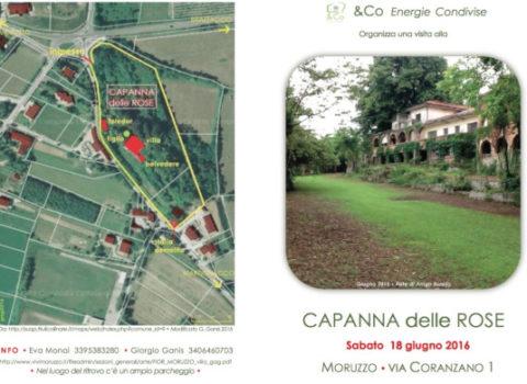 CAPANNA delle ROSE – Villa Fior a Moruzzo – 2016