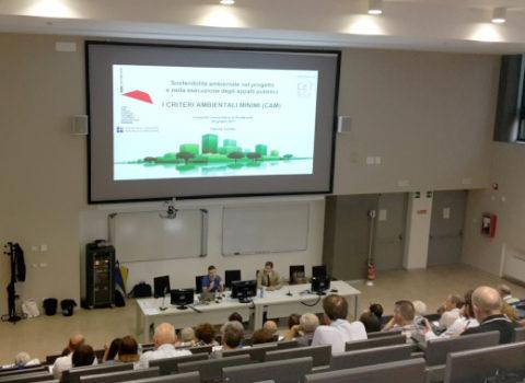 Sostenibilità ambientale nel progetto e nella esecuzione degli appalti pubblici I criteri ambientali minimi (CAM) – Seminario – 2017
