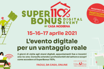 SUPERBONUS110% – Digital Event – 15-16-17 Aprile 2021